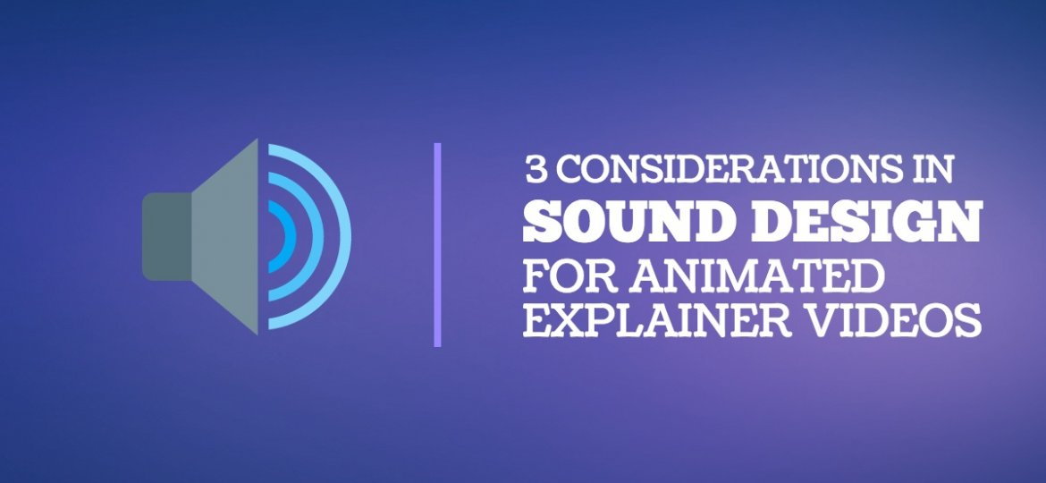 Sound Design for Explainer Videos